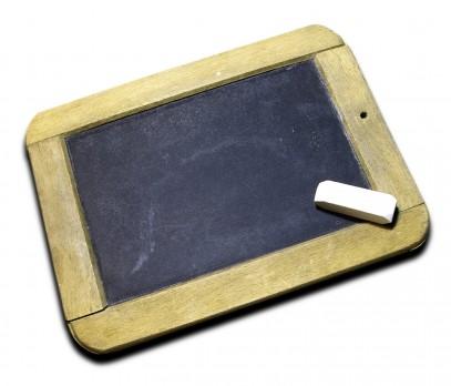 chalk and slate